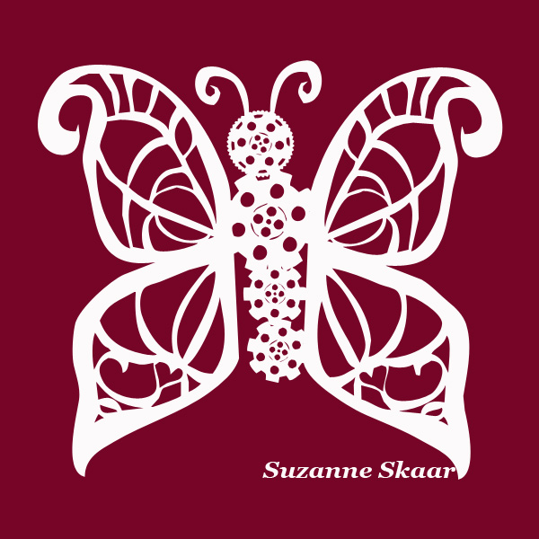 """Butterfly."" Suzanne Skaar. Digital Media. 2014."