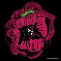 """""""Flower."""" Suzanne Skaar. Digital Media. 2014."""