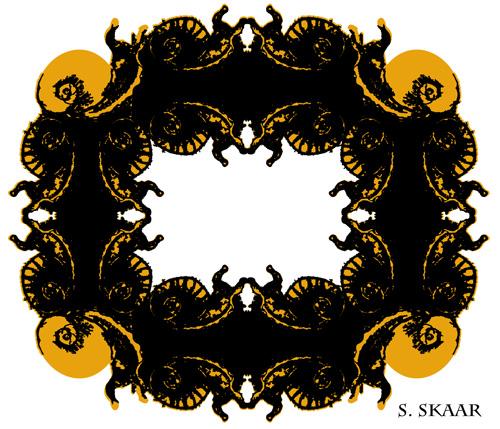 """Snails."" Suzanne Skaar. Digital Illustration. 2015."