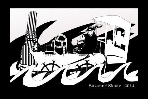 """""""Steamship."""" Suzanne Skaar. 2014. Digital Media."""