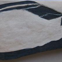 Painted Swallow. Suzanne Skaar. Steampunk Installation detail. 2014.