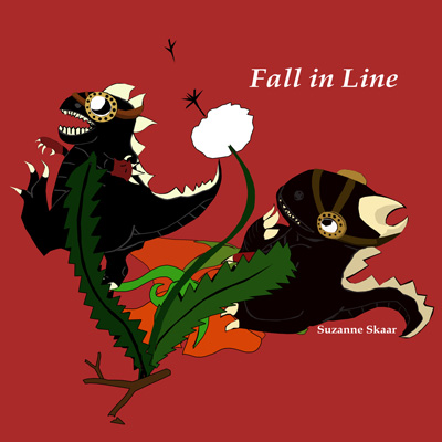 """Suzanne Skaar. """"Fall in Line."""" 2014."""