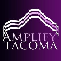 Amplify Tacoma. Logo. 2015.