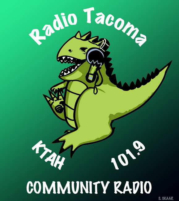 Artwork for Radio Tacoma, KTAH, 101.9 FM. http://radiotacoma.org/