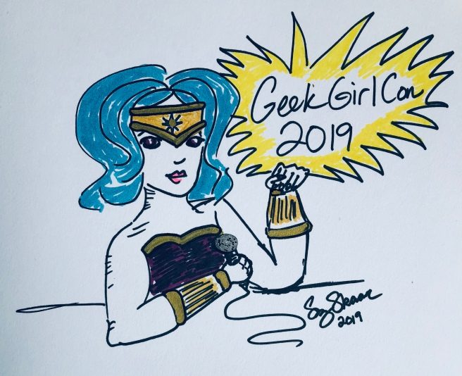 Quick sketch: GeekGirlCon 2019