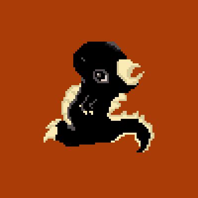 Mini Dino Pixel Art.